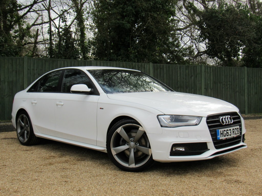 Used White Audi A4 for Sale | Dorset