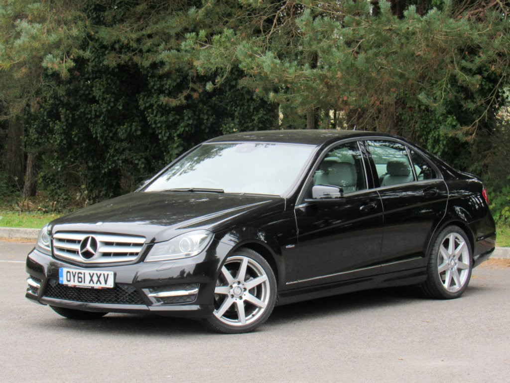 Used black mercedes c250 for sale dorset for Used mercedes benz c250 for sale