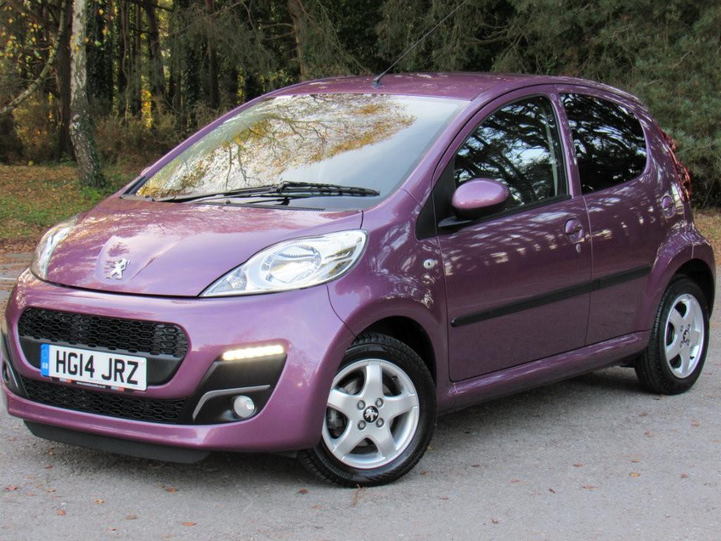 Used Peugeot 107 Poole >> Used Purple Peugeot 107 for Sale | Dorset