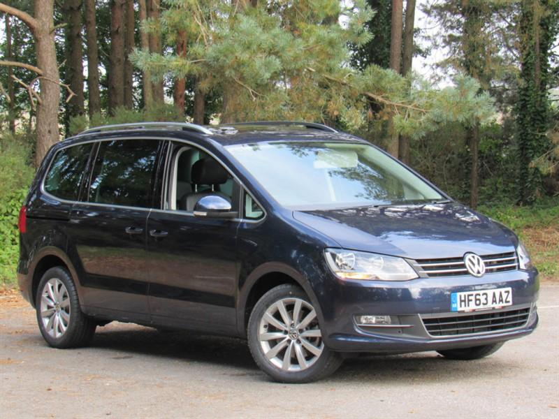 used VW Sharan TDI BlueMotion Tech SEL 5dr in in-dorset