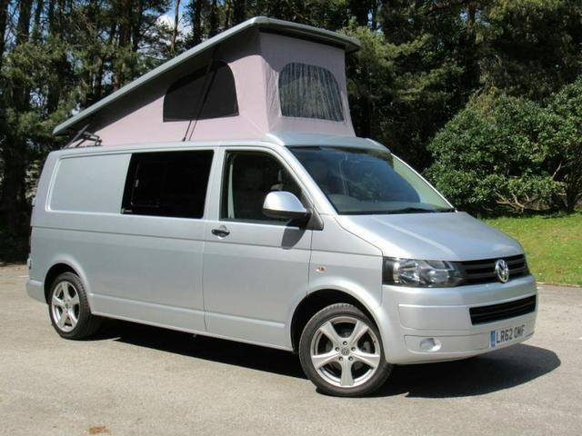 used VW Transporter California Camping Conversion With Elevating Roof in in-dorset