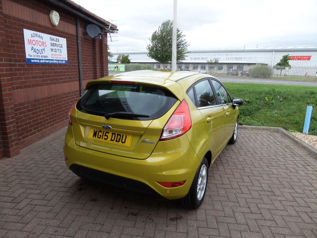 used hot mustard ford fiesta for sale lincolnshire. Black Bedroom Furniture Sets. Home Design Ideas