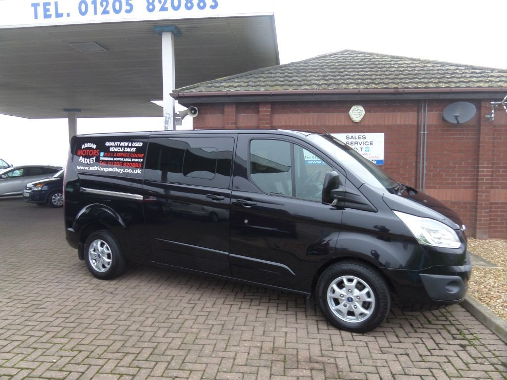 used panther black ford transit custom for sale lincolnshire. Black Bedroom Furniture Sets. Home Design Ideas
