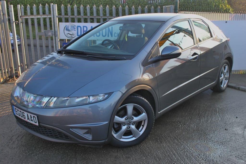 Used grey honda civic for sale essex for Honda civic 2006 hatchback