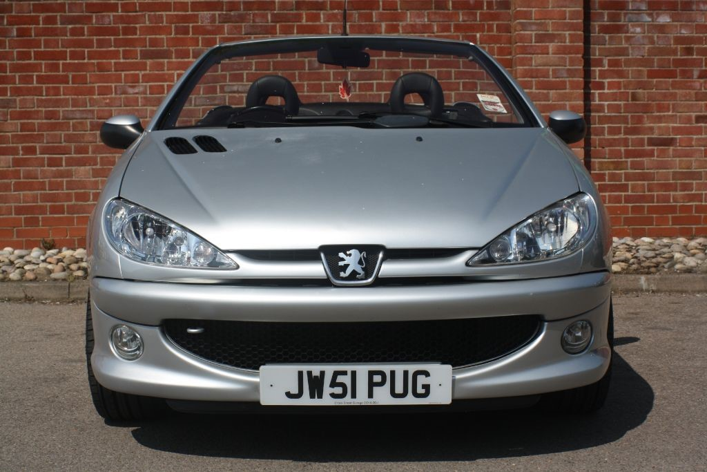 used silver peugeot 206 for sale essex. Black Bedroom Furniture Sets. Home Design Ideas