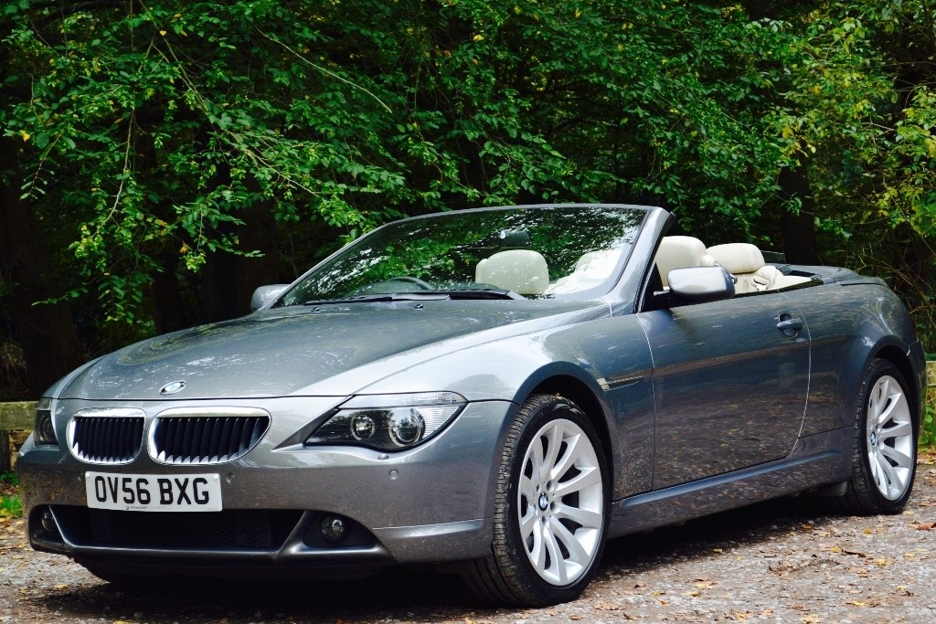 used grey bmw 630i for sale berkshire. Black Bedroom Furniture Sets. Home Design Ideas