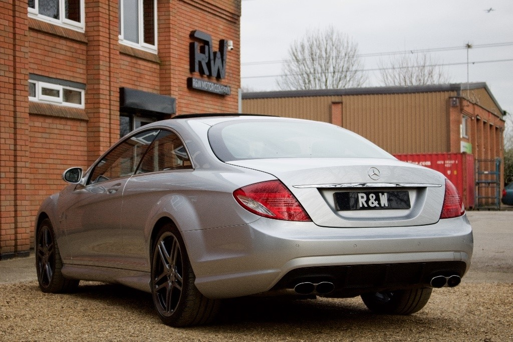 used silver mercedes cl65 amg for sale berkshire. Black Bedroom Furniture Sets. Home Design Ideas