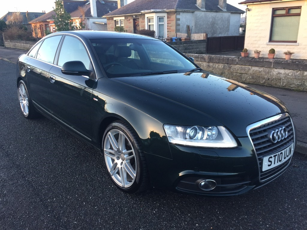 used audi a6 tdi s line special edition cowgate motor company. Black Bedroom Furniture Sets. Home Design Ideas