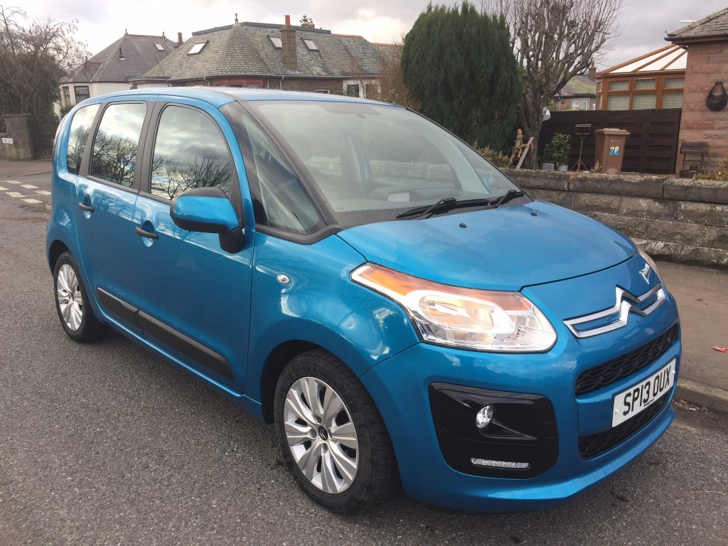 used citroen c3 picasso vtr plus cowgate motor company. Black Bedroom Furniture Sets. Home Design Ideas