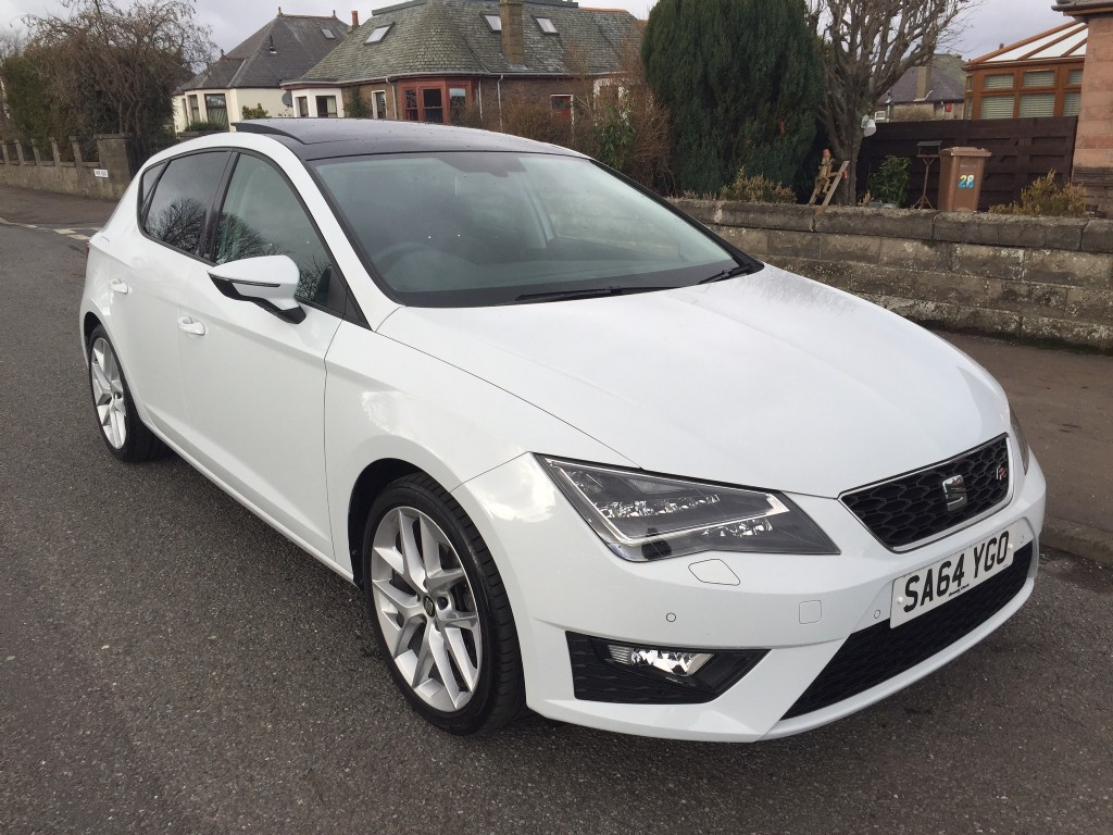 used seat leon tsi fr technology cowgate motor company. Black Bedroom Furniture Sets. Home Design Ideas