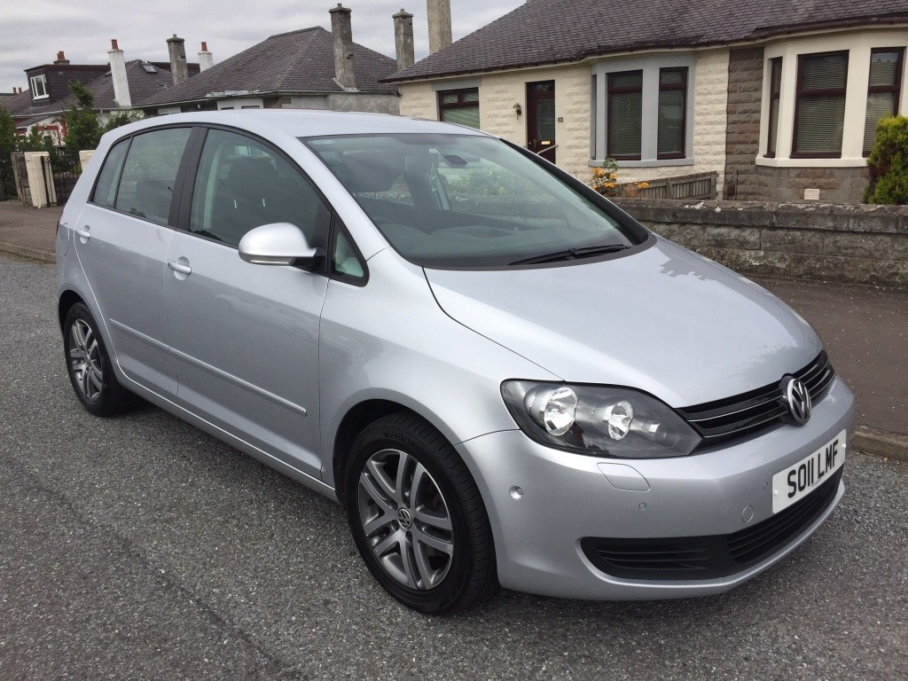 used vw golf plus tdi bluemotion tech se 5dr cowgate motor company. Black Bedroom Furniture Sets. Home Design Ideas