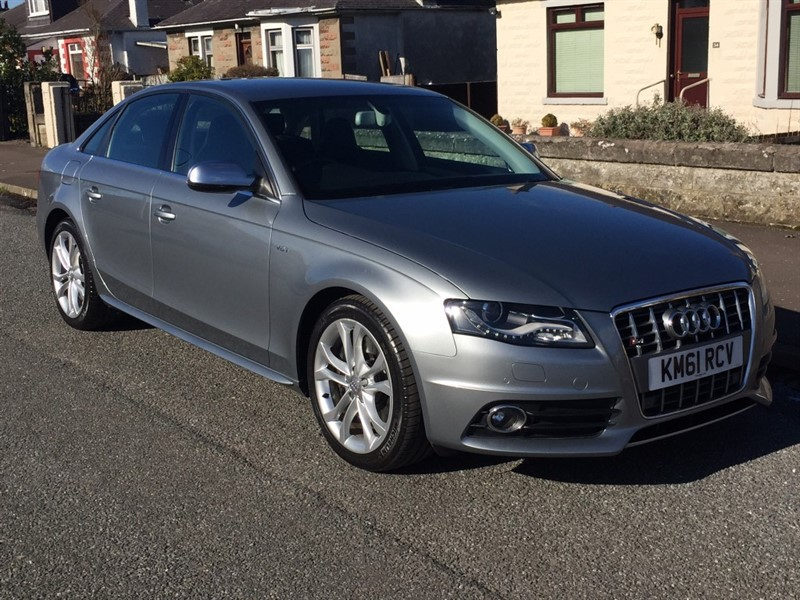 used Audi A4 S4 QUATTRO in dundee-scotland