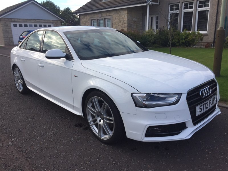 used Audi A4 TDI S Line 4dr in dundee-scotland