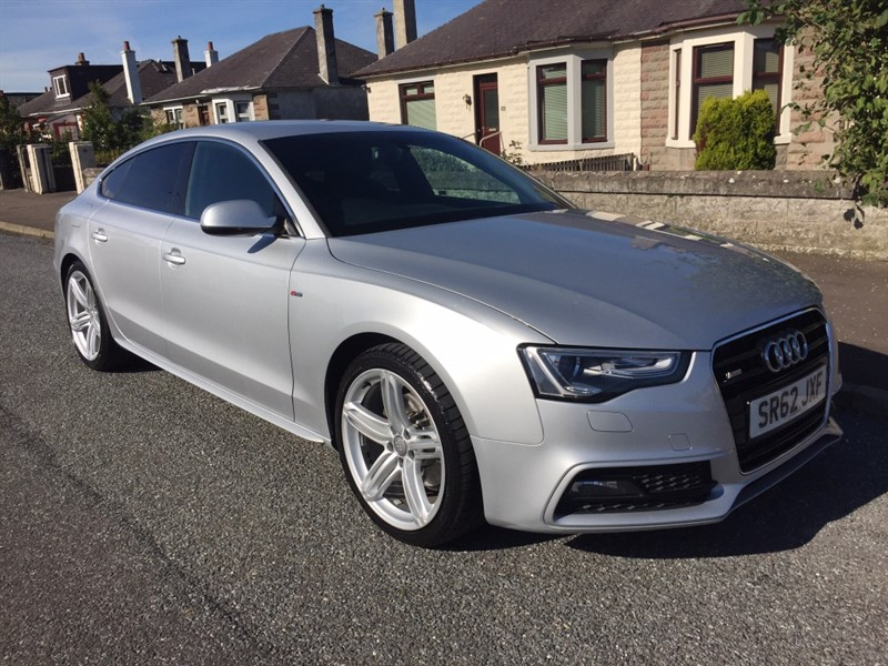 used Audi A5 TDI S Line Sportback 5dr in dundee-scotland