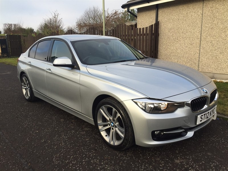 used BMW 320d SPORT in dundee-scotland