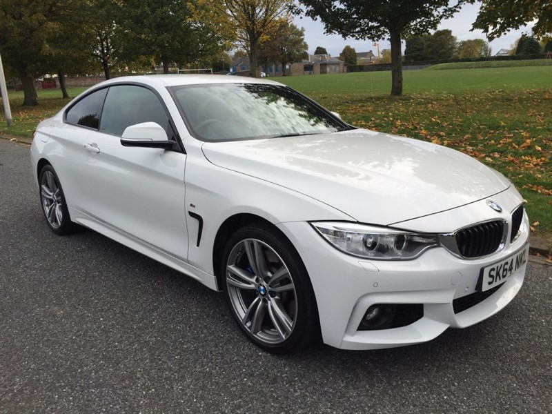 used BMW 435d XDRIVE M SPORT in dundee-scotland