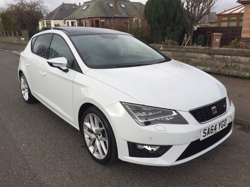 used SEAT Leon TSI FR TECHNOLOGY in dundee-scotland