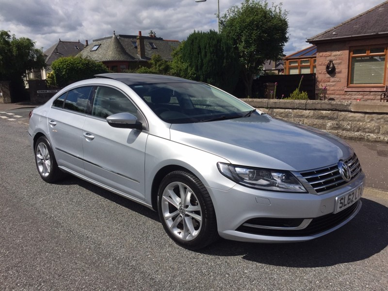 used VW CC TDI BlueMotion Tech 4dr in dundee-scotland