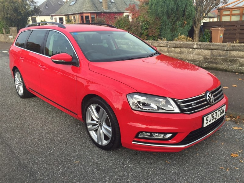 used VW Passat R LINE TDI BLUEMOTION TECHNOLOGY in dundee-scotland