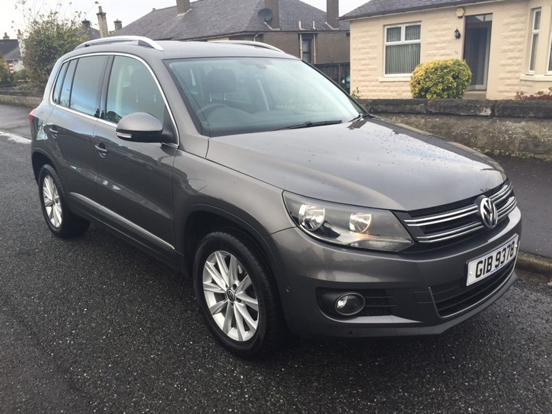 used VW Tiguan SE TDI BLUEMOTION TECHNOLOGY 4MOTION in dundee-scotland