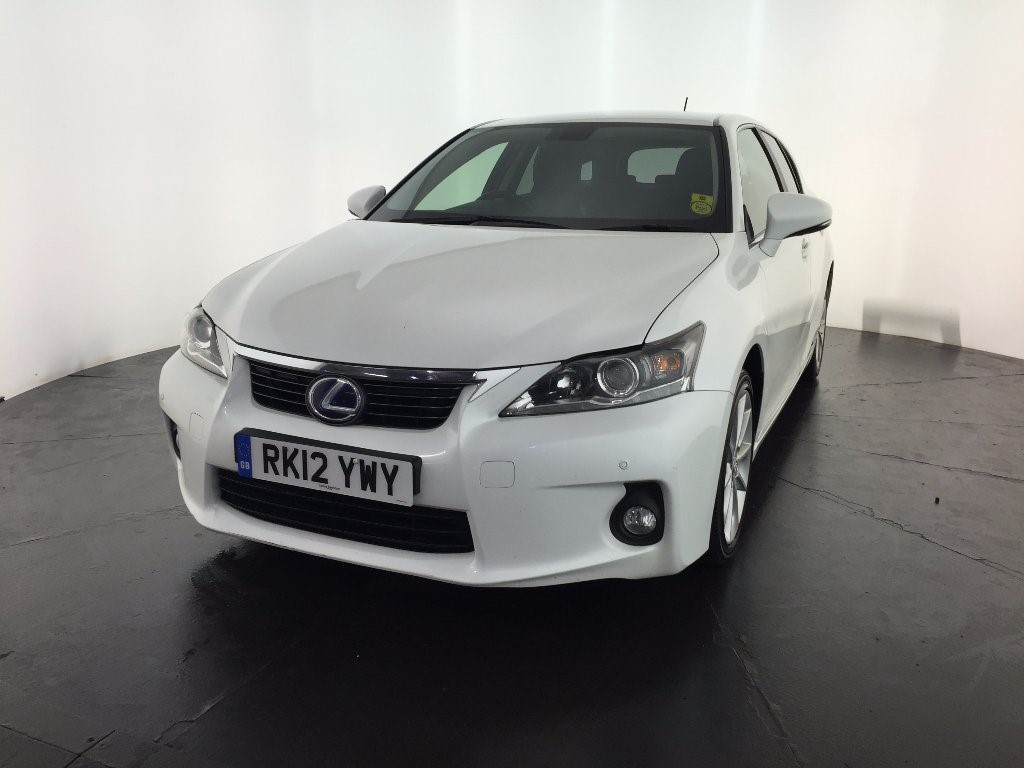 used white lexus ct 200h for sale leicestershire