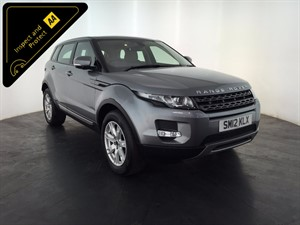 used Land Rover Range Rover Evoque SD4 Pure Tech 4x4 5dr in leicester