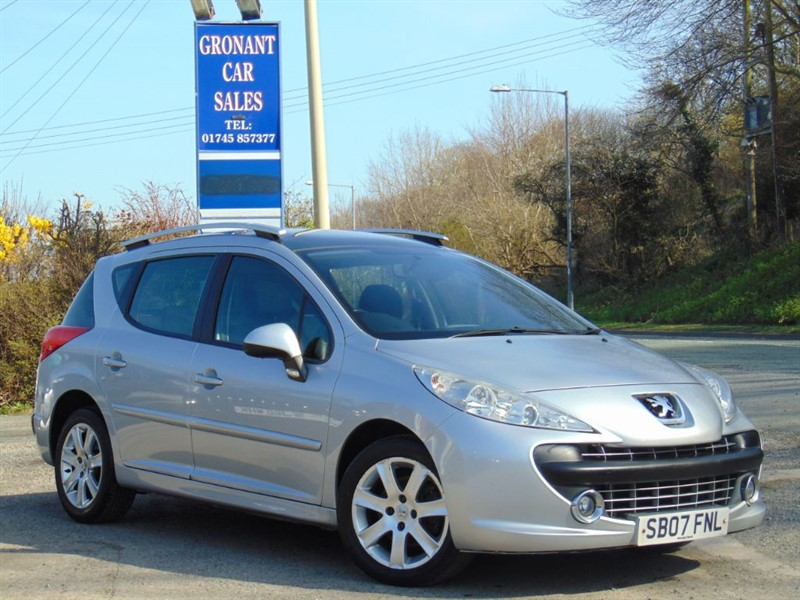 Car of the week - Peugeot 207 SW SPORT - Only £1,995