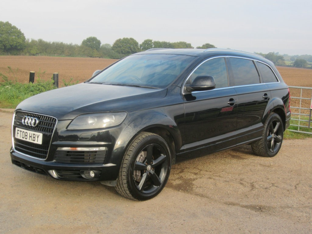 used audi q7 tdi quattro 240 s line 5dr tip auto beacon hill used car centre. Black Bedroom Furniture Sets. Home Design Ideas