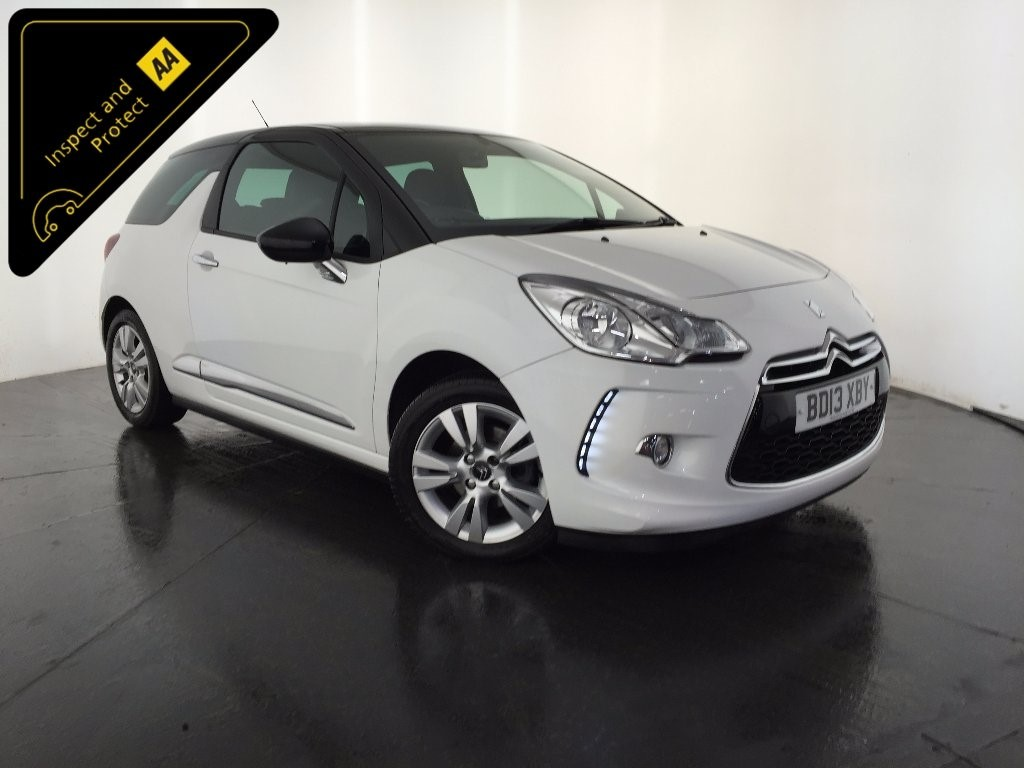 used white citroen ds3 for sale leicestershire