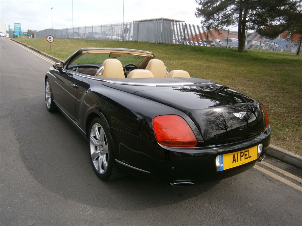 Used Black Bentley Continental GTC for Sale