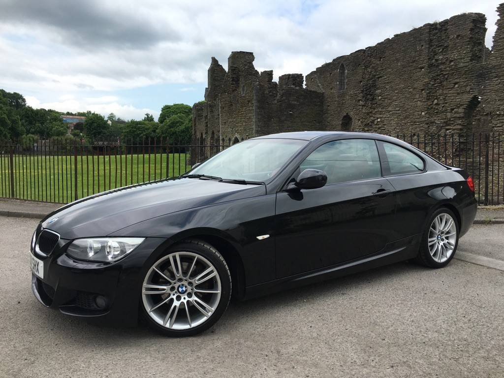 Used Black Bmw 320d For Sale Swansea