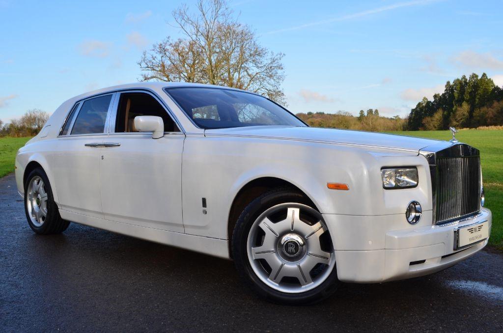 Used Pearl White Rolls-Royce Phantom For Sale ...
