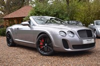 Used Bentley Continental GTC Supersports