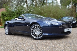 used Aston Martin DB9 V12 VOLANTE in marlow-buckinghamshire