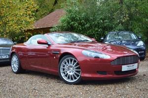 used Aston Martin DB9 V12 VOLANTE in marlow-buckinghamshire