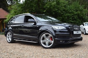 used Audi Q7 TDI QUATTRO S LINE PLUS in marlow-buckinghamshire