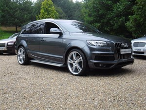used Audi Q7 TDI QUATTRO S LINE in marlow-buckinghamshire