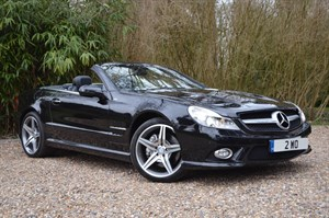 used Mercedes SL500 NIGHT EDITION in marlow-buckinghamshire