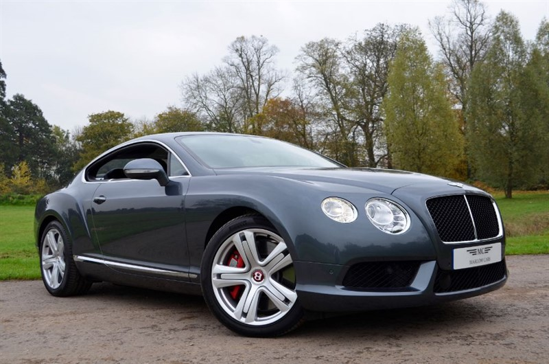 used Bentley Continental GT V8 AUTO in marlow-buckinghamshire