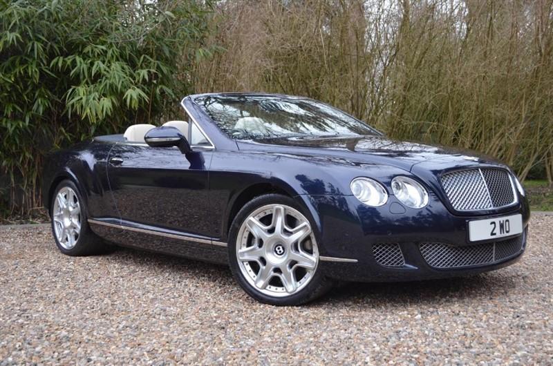 used Bentley Continental GTC MULLINER in marlow-buckinghamshire