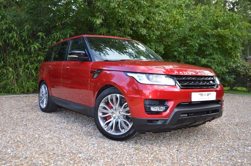 used Land Rover Range Rover Sport SDV6 HSE DYNAMIC in marlow-buckinghamshire