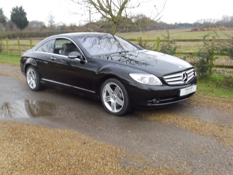 used Mercedes CL500 CL CL 500 in marlow-buckinghamshire