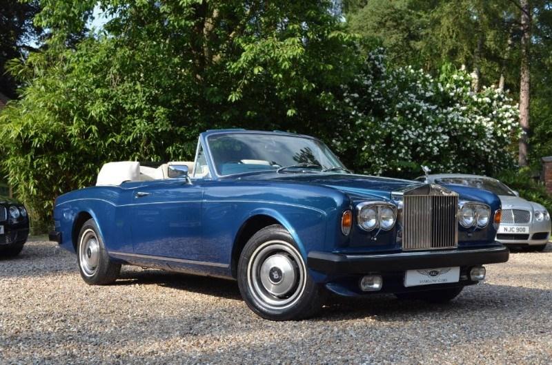 used Rolls-Royce Corniche CONVERTIBLE in marlow-buckinghamshire