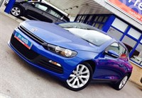 Used VW Scirocco 2.0 TDI 140 Bluemotion Coupe Manual