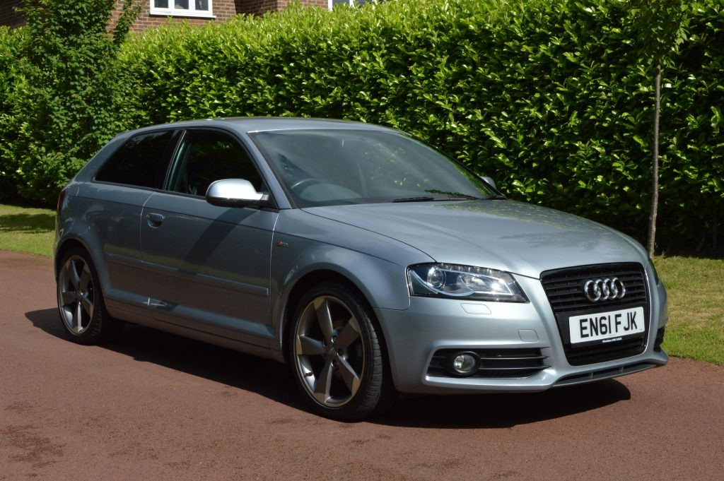 used Audi A3 TDI S LINE BLACK EDITION in hersham-surrey