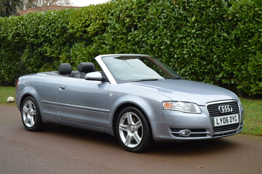 used Audi A4 Cabriolet T FSI SPORT in hersham-surrey
