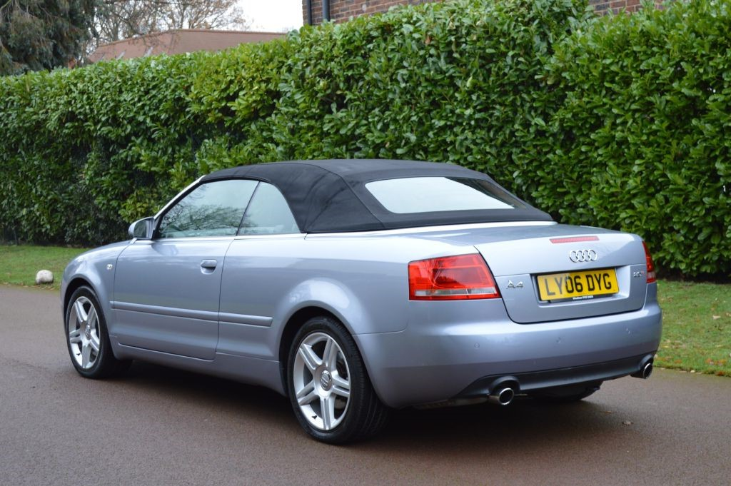 audi a4 cabriolet in hersham surrey compucars. Black Bedroom Furniture Sets. Home Design Ideas