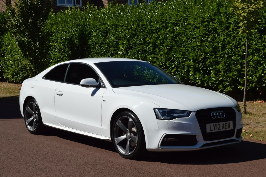 used Audi A5 TFSI S LINE BLACK EDITION in hersham-surrey