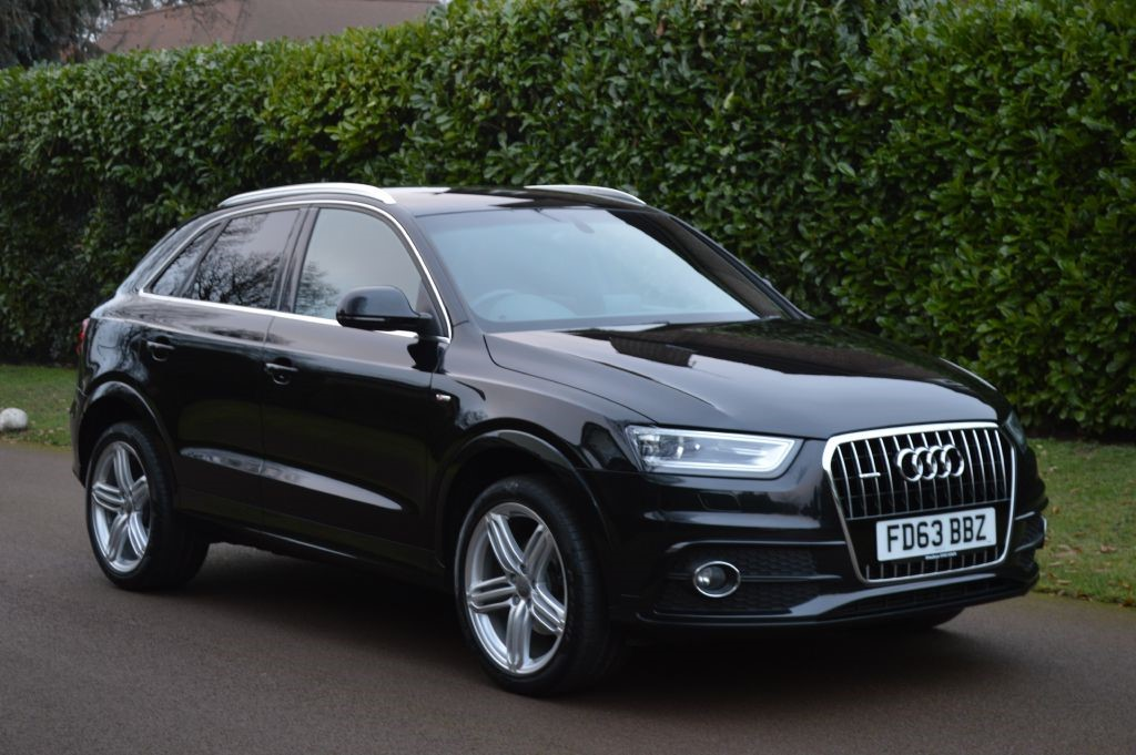 used Audi Q3 TDI QUATTRO S LINE in hersham-surrey