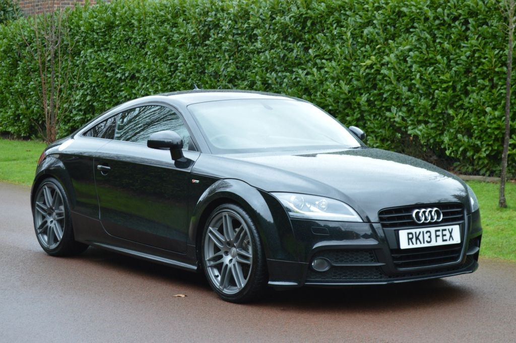 used Audi TT TFSI BLACK EDITION in hersham-surrey